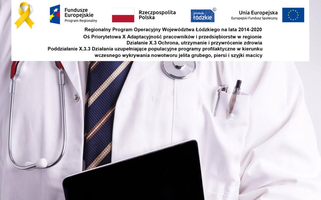 Działania profilaktyczne w kierunku wczesnego wykrywania nowotworu jelita grubego